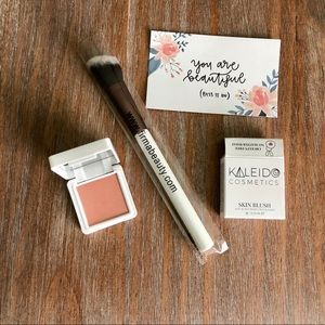 🌾3xHP🌾 firma beauty ANGLED Brush/Kaleido Blush